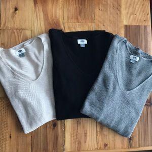 Old Navy Tunic Sweater Bundle